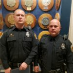 Beadle, Noeller Graduate from Police Academy