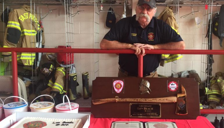 Beach Retires from ERFD